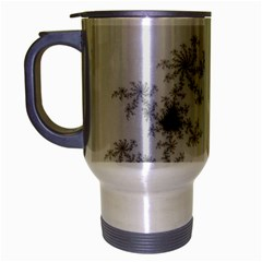 Mandelbrot Apple Males Mathematics Travel Mug (silver Gray)