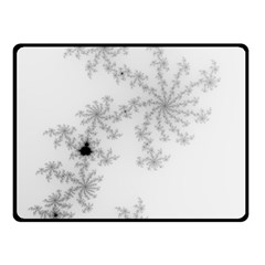 Mandelbrot Apple Males Mathematics Double Sided Fleece Blanket (small)