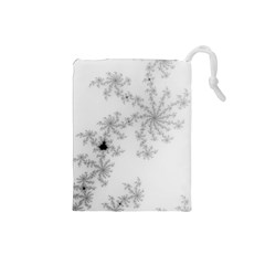 Mandelbrot Apple Males Mathematics Drawstring Pouches (small)