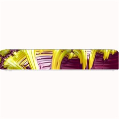 Yellow Magenta Abstract Fractal Small Bar Mats