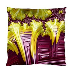 Yellow Magenta Abstract Fractal Standard Cushion Case (one Side)