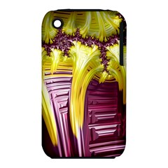 Yellow Magenta Abstract Fractal Iphone 3s/3gs