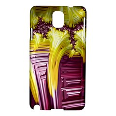 Yellow Magenta Abstract Fractal Samsung Galaxy Note 3 N9005 Hardshell Case