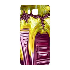 Yellow Magenta Abstract Fractal Samsung Galaxy Alpha Hardshell Back Case