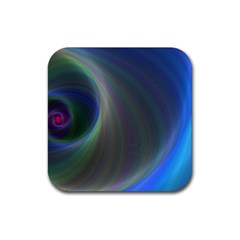 Gloom Background Abstract Dim Rubber Coaster (square)