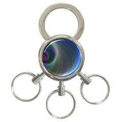 Gloom Background Abstract Dim 3 Ring Key Chains