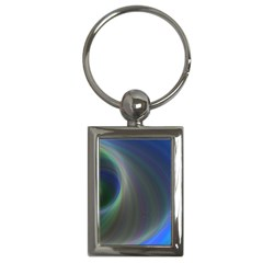 Gloom Background Abstract Dim Key Chains (rectangle)
