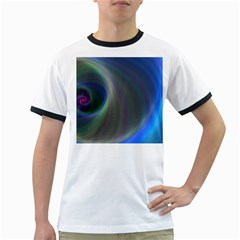 Gloom Background Abstract Dim Ringer T Shirts
