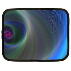 Gloom Background Abstract Dim Netbook Case (large)