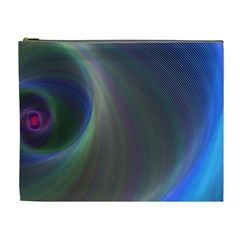 Gloom Background Abstract Dim Cosmetic Bag (xl)