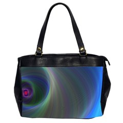 Gloom Background Abstract Dim Office Handbags (2 Sides)