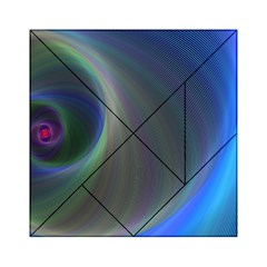 Gloom Background Abstract Dim Acrylic Tangram Puzzle (6  X 6 )