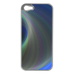 Gloom Background Abstract Dim Apple Iphone 5 Case (silver)