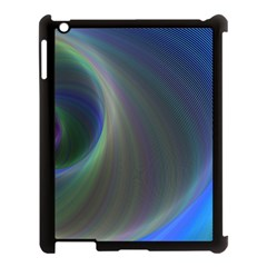 Gloom Background Abstract Dim Apple Ipad 3/4 Case (black)