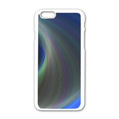 Gloom Background Abstract Dim Apple Iphone 6/6s White Enamel Case