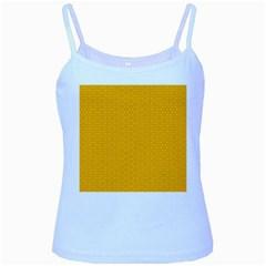 Texture Background Pattern Baby Blue Spaghetti Tank