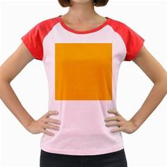 Texture Background Pattern Women s Cap Sleeve T Shirt