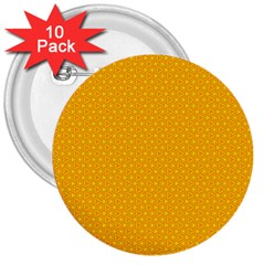 Texture Background Pattern 3  Buttons (10 Pack)