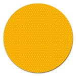 Texture Background Pattern Magnet 5  (Round) Front