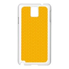 Texture Background Pattern Samsung Galaxy Note 3 N9005 Case (white)