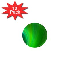 Green Background Abstract Color 1  Mini Magnet (10 Pack)