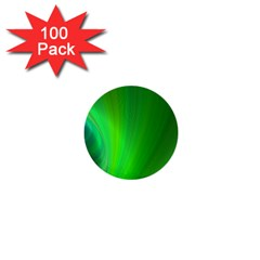 Green Background Abstract Color 1  Mini Buttons (100 Pack)