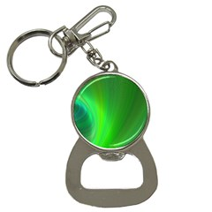 Green Background Abstract Color Button Necklaces