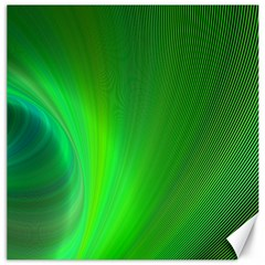 Green Background Abstract Color Canvas 16  X 16