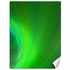 Green Background Abstract Color Canvas 36  X 48