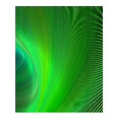 Green Background Abstract Color Shower Curtain 60  X 72  (medium)