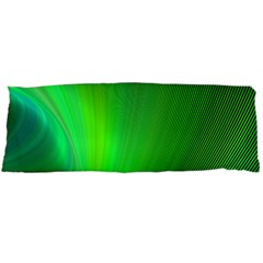 Green Background Abstract Color Body Pillow Case (dakimakura)