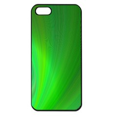 Green Background Abstract Color Apple Iphone 5 Seamless Case (black)