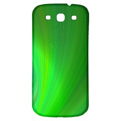 Green Background Abstract Color Samsung Galaxy S3 S Iii Classic Hardshell Back Case