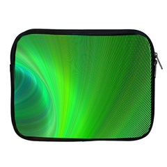 Green Background Abstract Color Apple Ipad 2/3/4 Zipper Cases