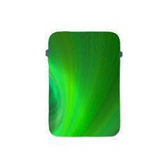 Green Background Abstract Color Apple Ipad Mini Protective Soft Cases