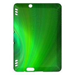 Green Background Abstract Color Kindle Fire Hdx Hardshell Case