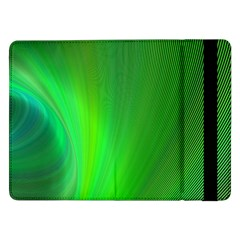 Green Background Abstract Color Samsung Galaxy Tab Pro 12 2  Flip Case