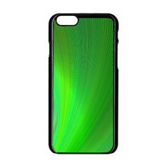 Green Background Abstract Color Apple Iphone 6/6s Black Enamel Case