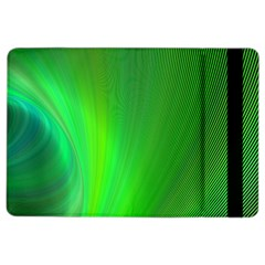 Green Background Abstract Color Ipad Air 2 Flip