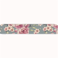 Pink Flower Seamless Design Floral Small Bar Mats