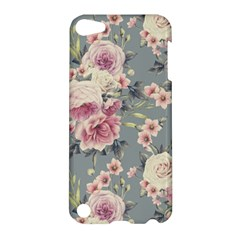 Pink Flower Seamless Design Floral Apple Ipod Touch 5 Hardshell Case