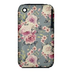 Pink Flower Seamless Design Floral Iphone 3s/3gs