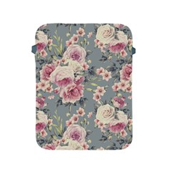 Pink Flower Seamless Design Floral Apple Ipad 2/3/4 Protective Soft Cases