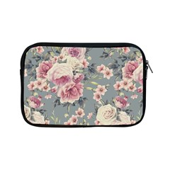 Pink Flower Seamless Design Floral Apple Ipad Mini Zipper Cases