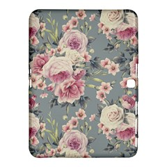 Pink Flower Seamless Design Floral Samsung Galaxy Tab 4 (10 1 ) Hardshell Case