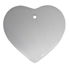 White Background Abstract Light Ornament (heart)