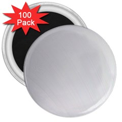 White Background Abstract Light 3  Magnets (100 Pack)