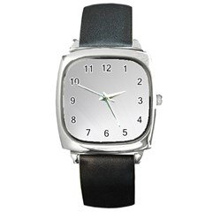 White Background Abstract Light Square Metal Watch