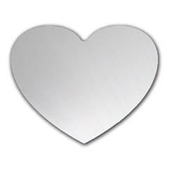 White Background Abstract Light Heart Mousepads