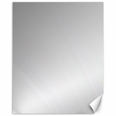 White Background Abstract Light Canvas 11  X 14